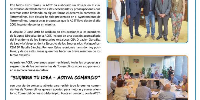 Propuestas acet para mejoras del entorno comercial de for Clinica santa elena torremolinos