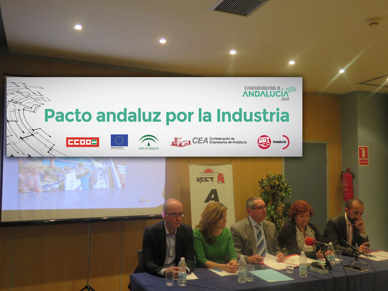 La acet adherida al pacto andaluz por la industria acet for Clinica santa elena torremolinos