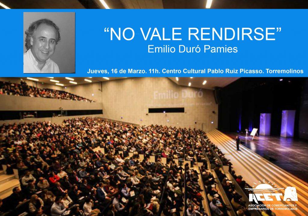 Encuentro Empresarial De La Acet Conferencia Emilio Duró Y