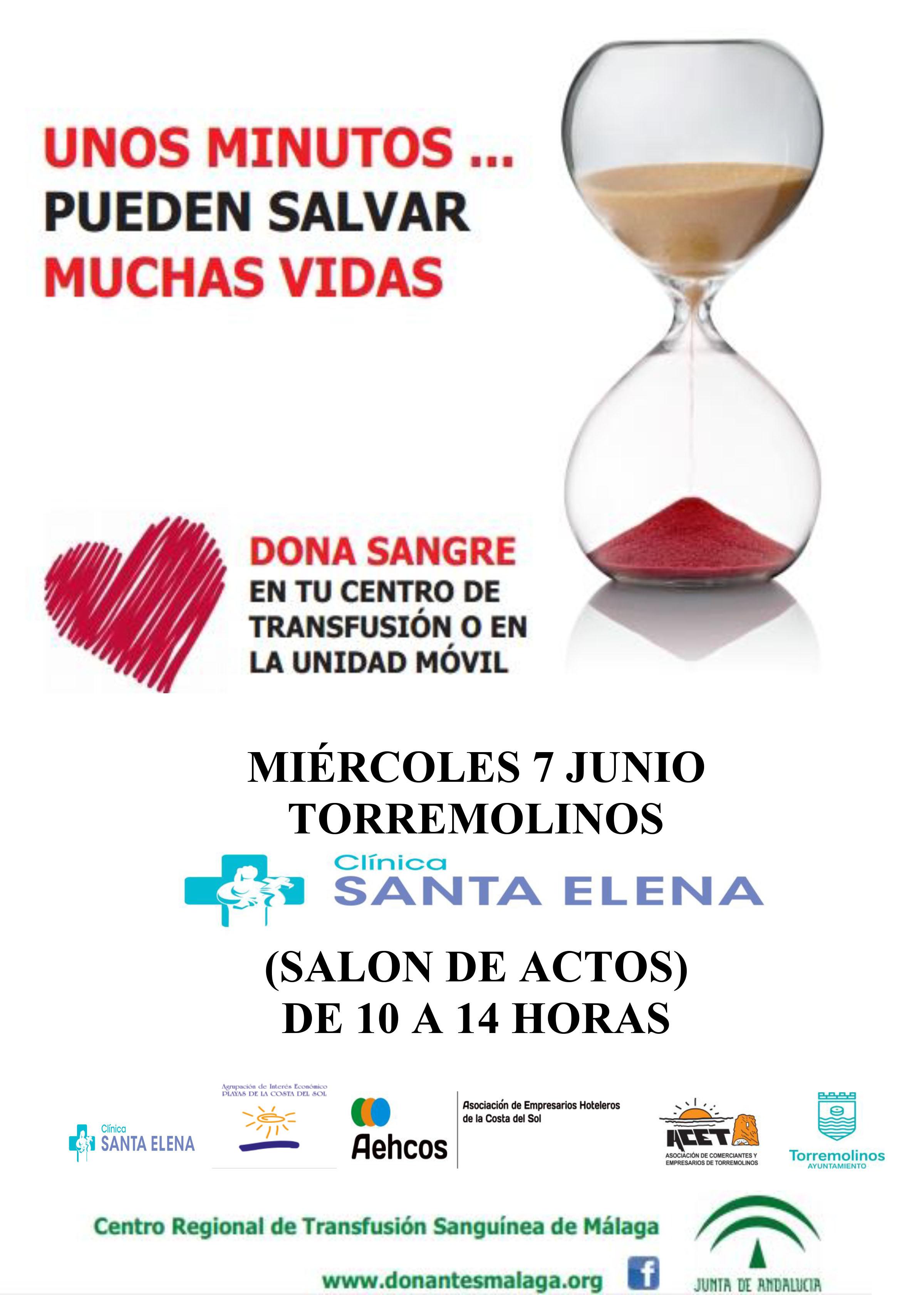 La acet parte de la campa a de donaci n de sangre en for Clinica santa elena torremolinos